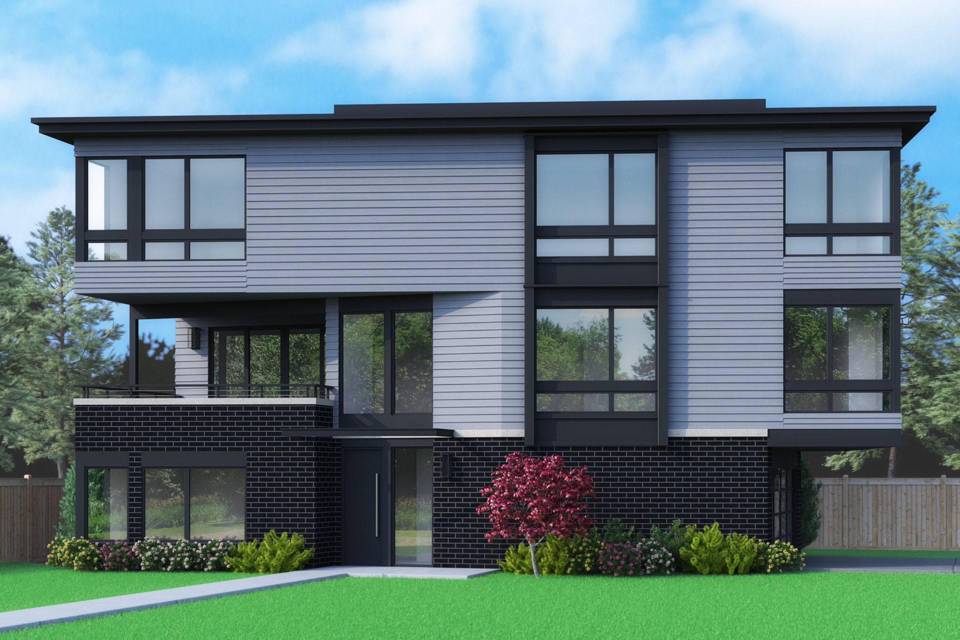 View our new luxury home construction on 764 State St S, in Kirkland, WA from MN Custom Homes