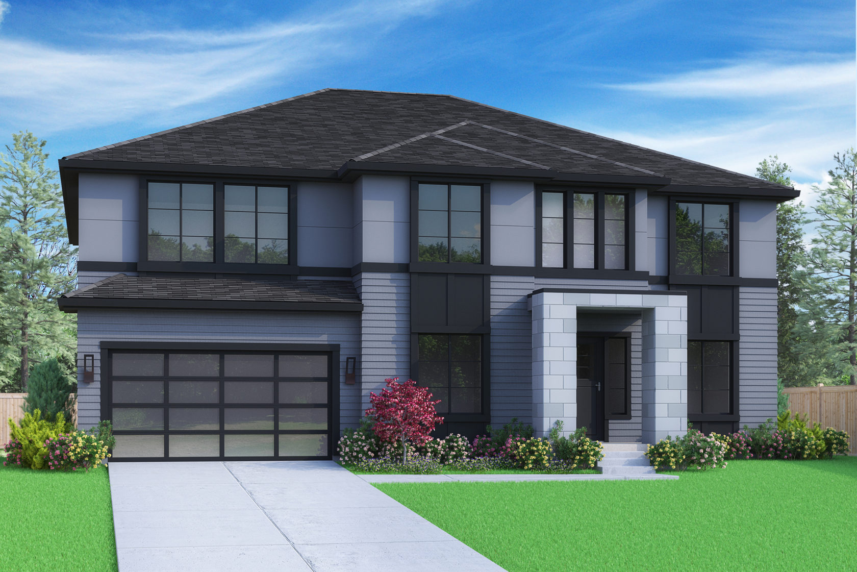 View our new luxury home construction on 2219 151st Pl SE, in Bellevue, WA from MN Custom Homes
