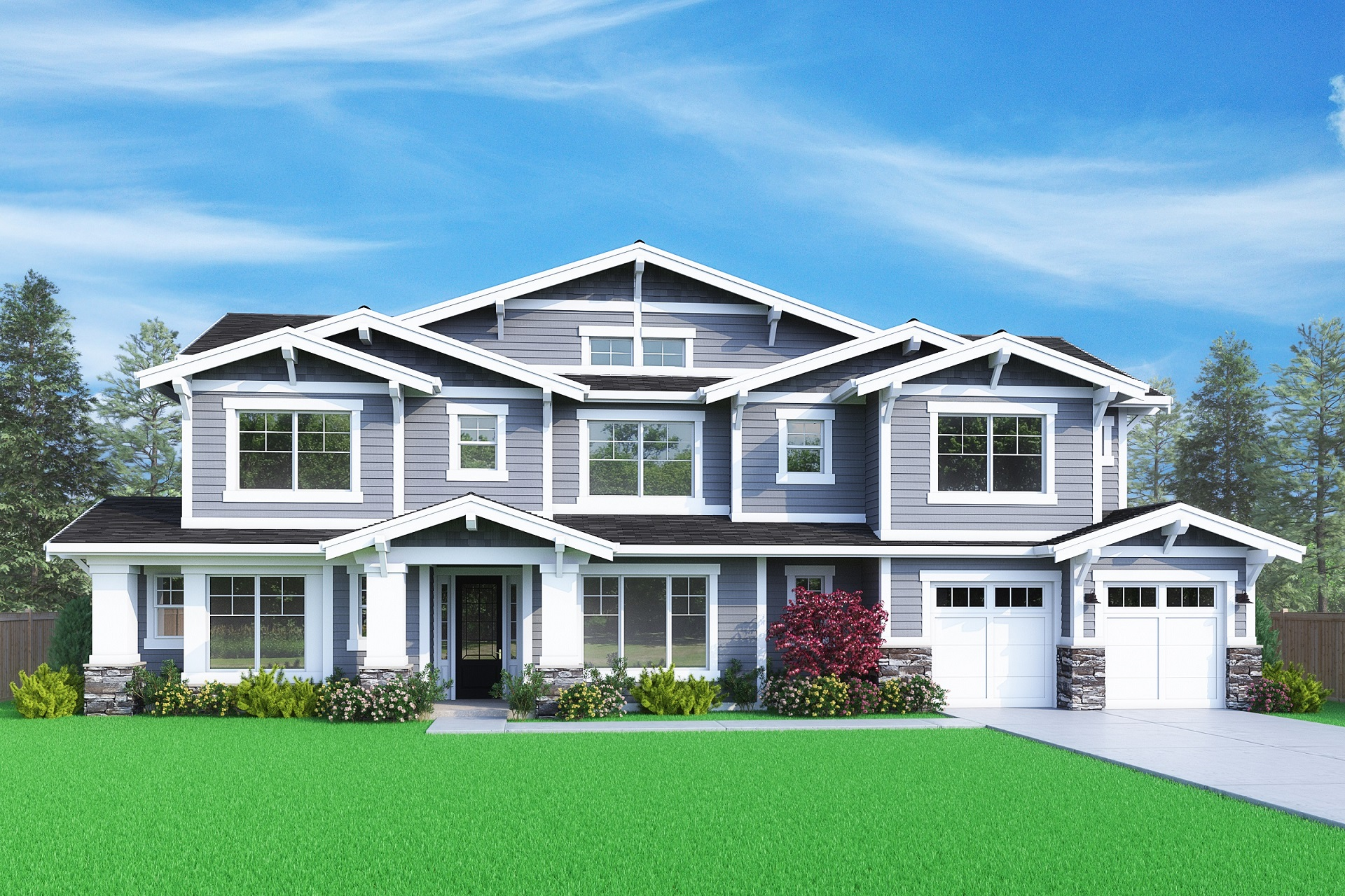 View our new luxury home construction on 233 110th Pl SE, in Bellevue, WA from MN Custom Homes