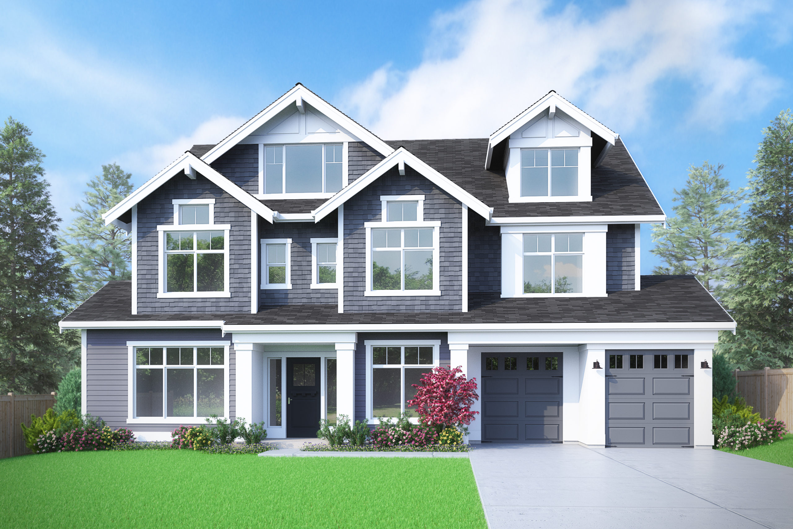 View our new luxury home construction on 10604 NE 28th Pl, in Bellevue, WA from MN Custom Homes