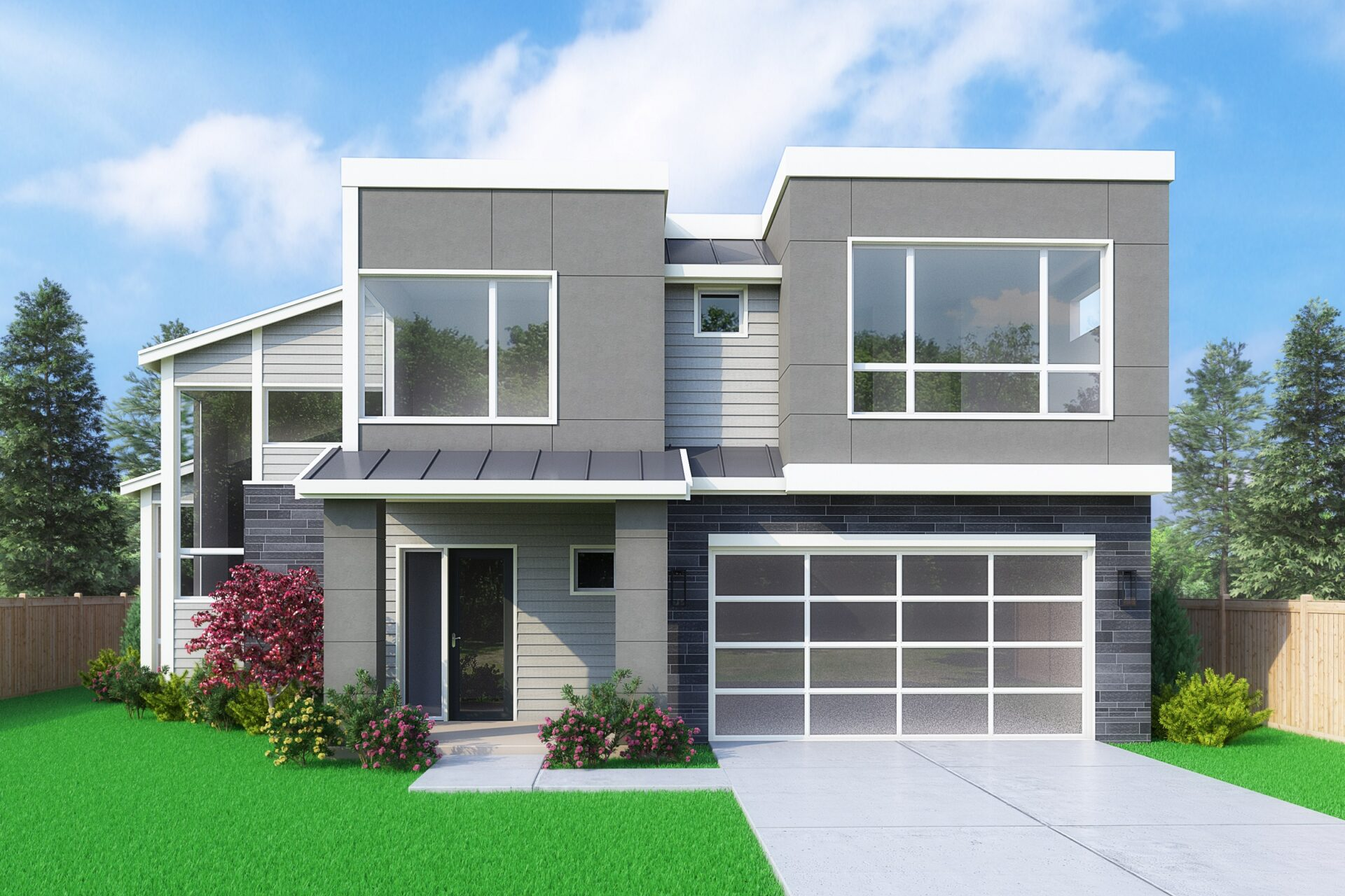 View our new luxury home construction on 534 10th Ave, in Kirkland, WA from MN Custom Homes