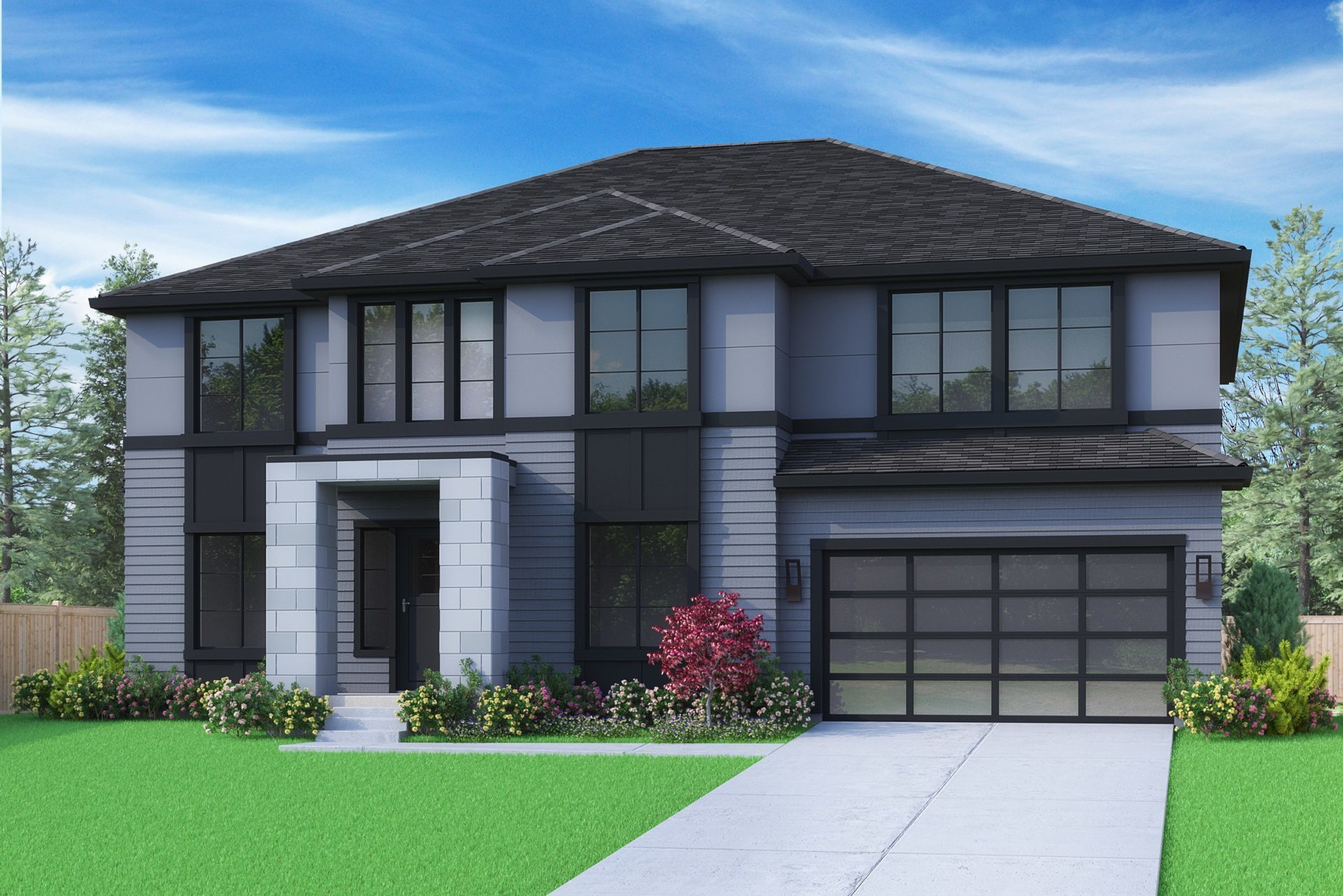 View our new luxury home construction on 4165 146th Ave SE, in Bellevue, WA from MN Custom Homes