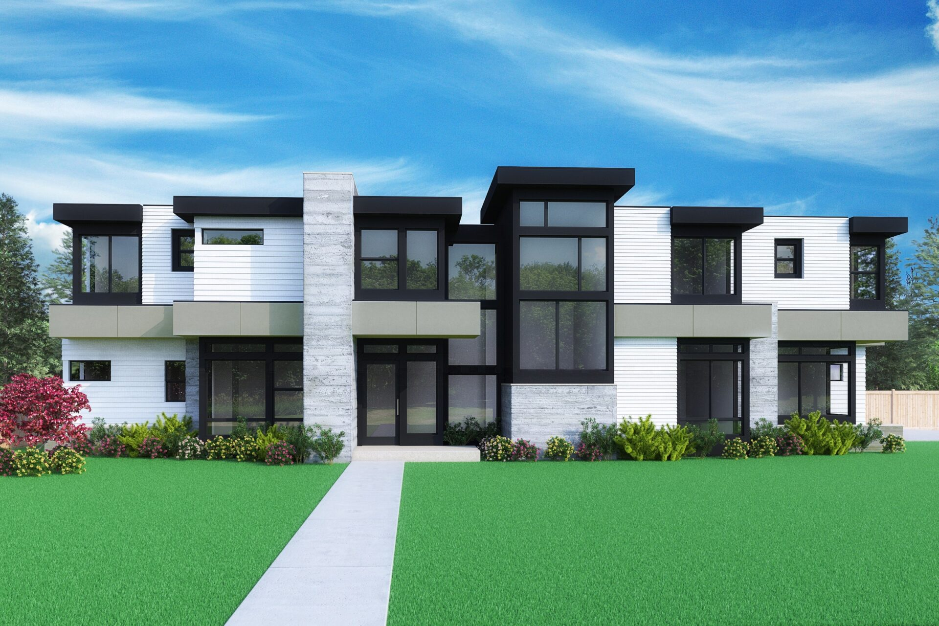 View our new luxury home construction on 9604 NE 25th St, in Bellevue, WA from MN Custom Homes