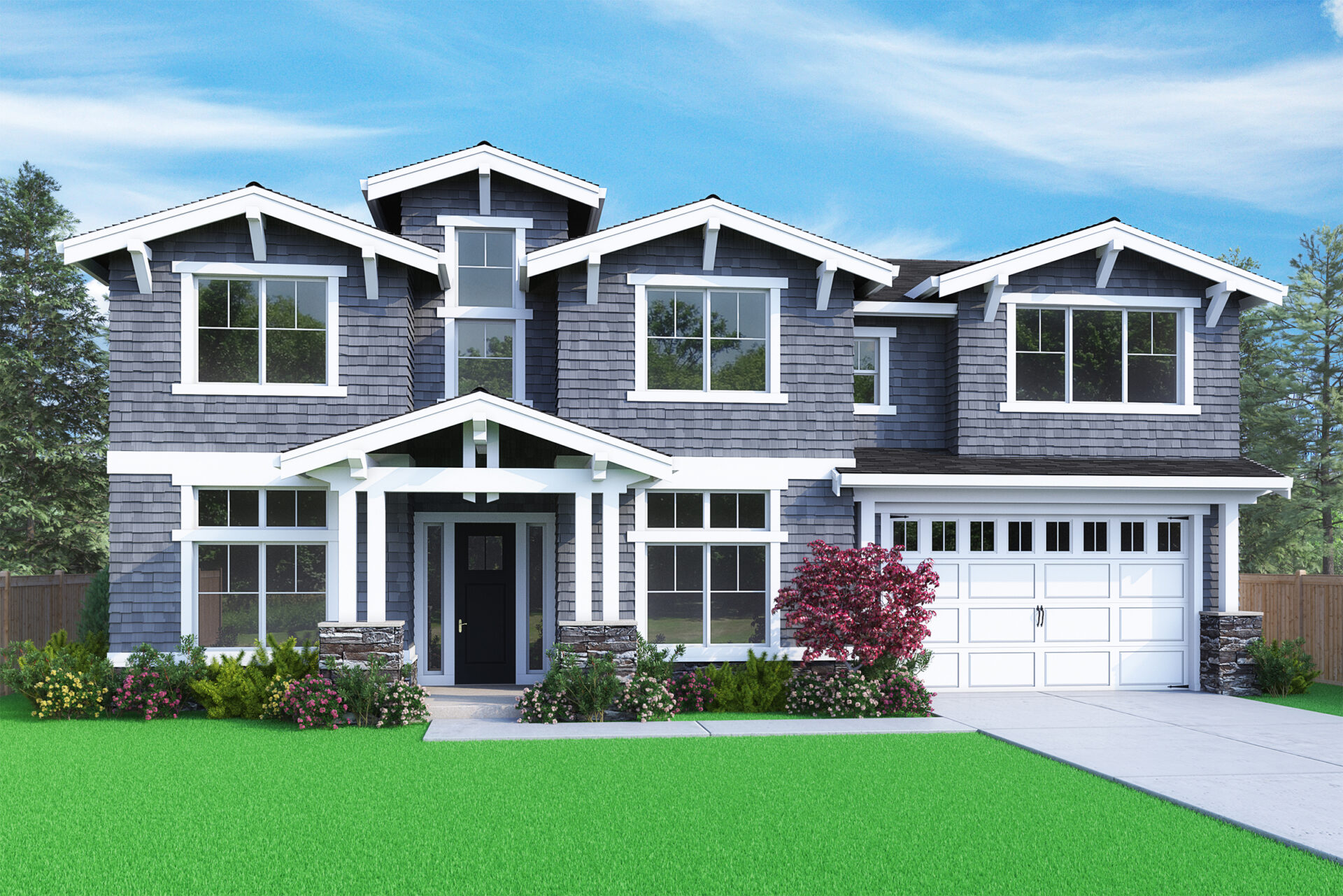 View our new luxury home construction on 701 18th AVE W, in Kirkland, WA from MN Custom Homes