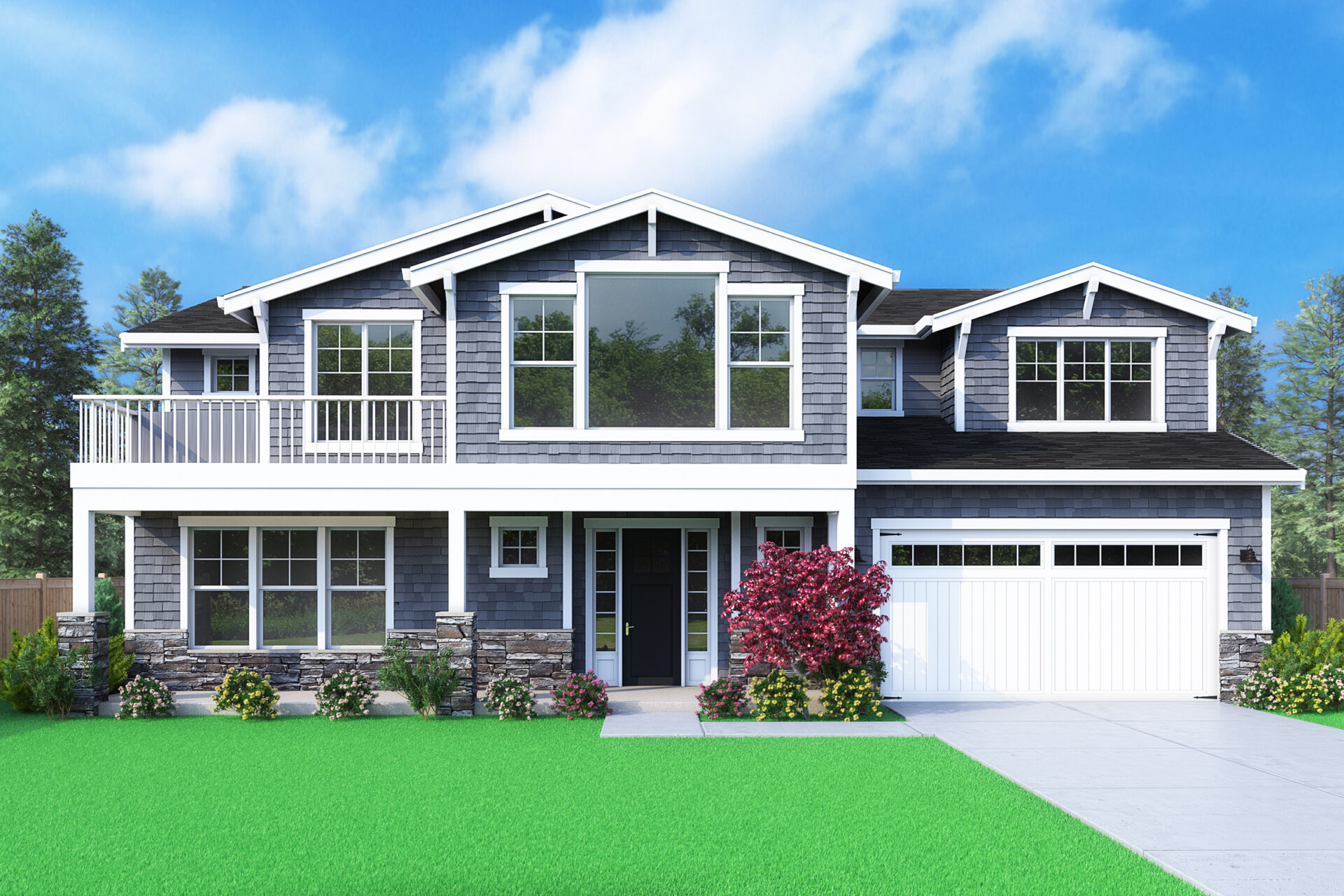 View our new luxury home construction on 10648 NE 45th St, Kirkland WA from MN Custom Homes