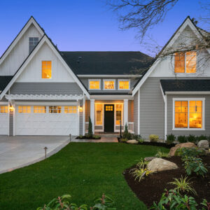 View our new luxury home construction on 12345 SE 23rd Pl in SE, in Bellevue, WA from MN Custom Homes