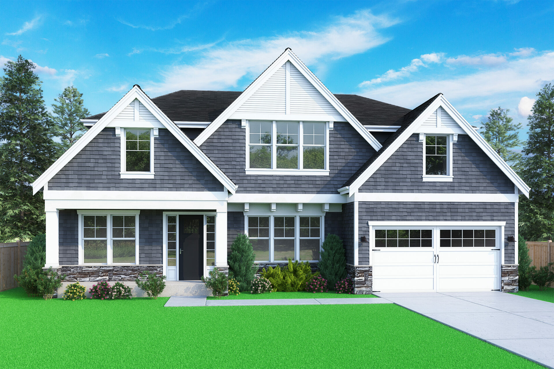 View our new luxury home construction on 3738 164th Pl SE, in Bellevue, WA from MN Custom Homes