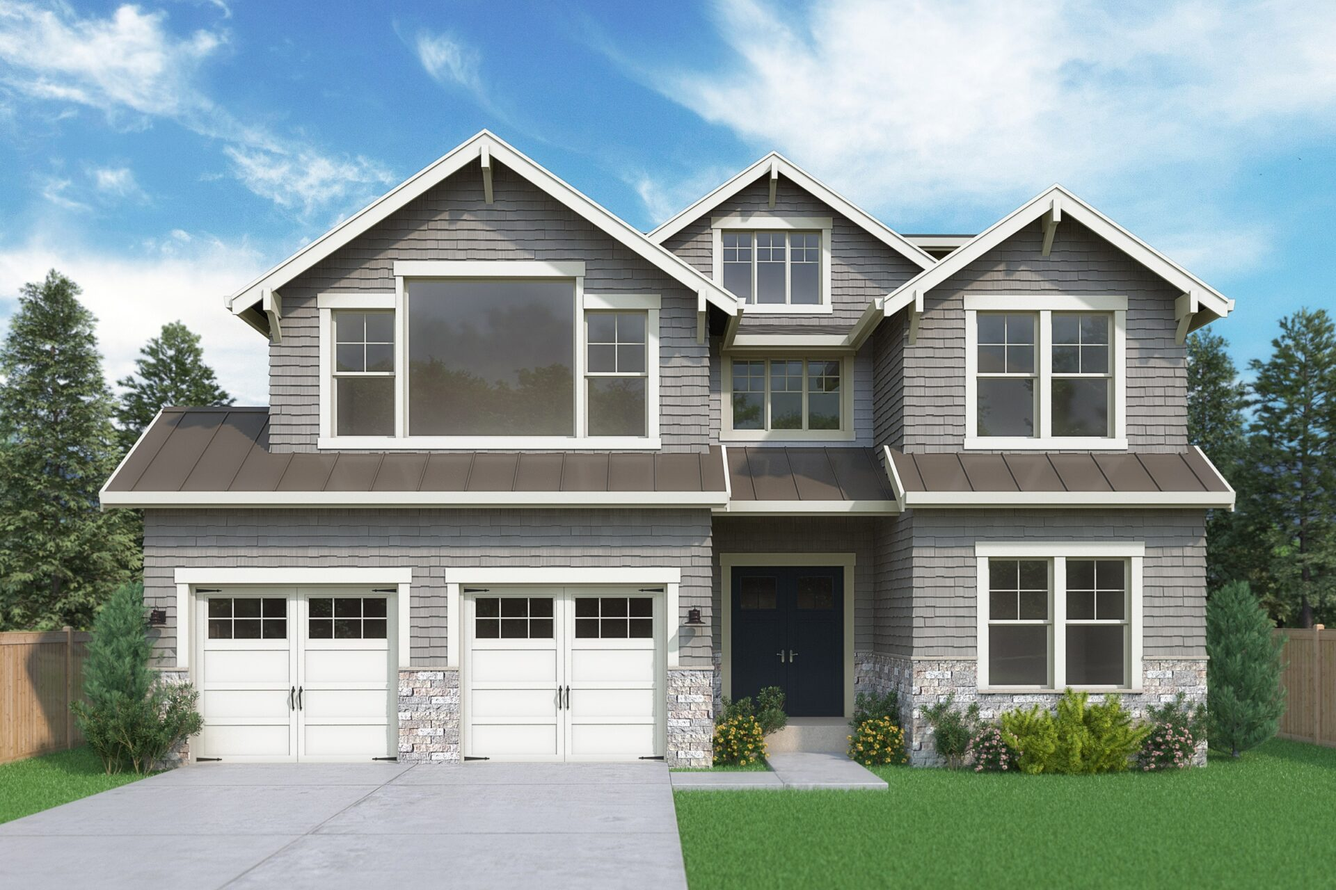 View our new luxury home construction on 1709 99th Ave NE, in Bellevue, WA from MN Custom Homes