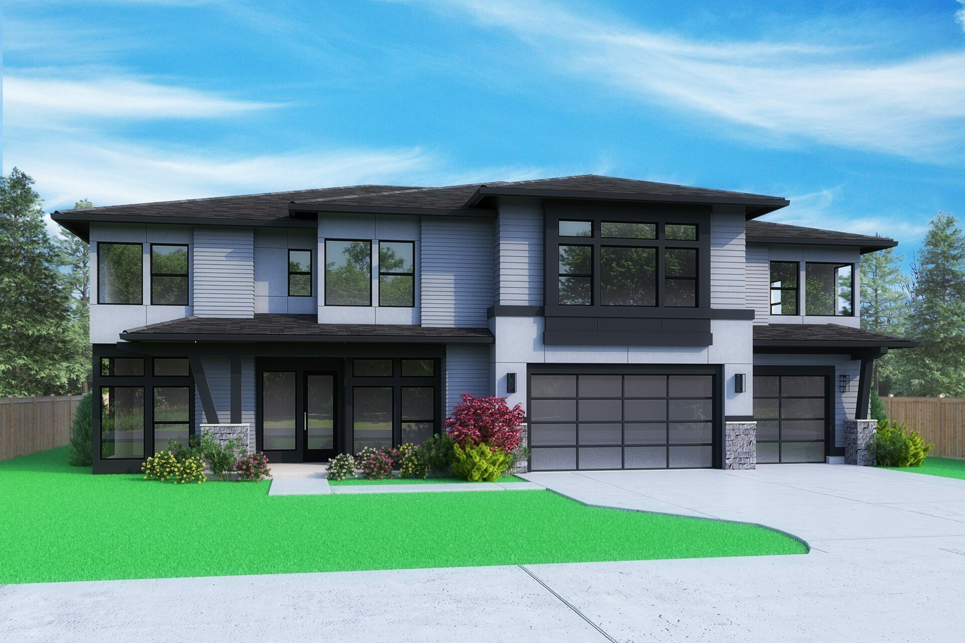 View our new luxury home construction on 10479 SE 19th St, in Bellevue, WA from MN Custom Homes