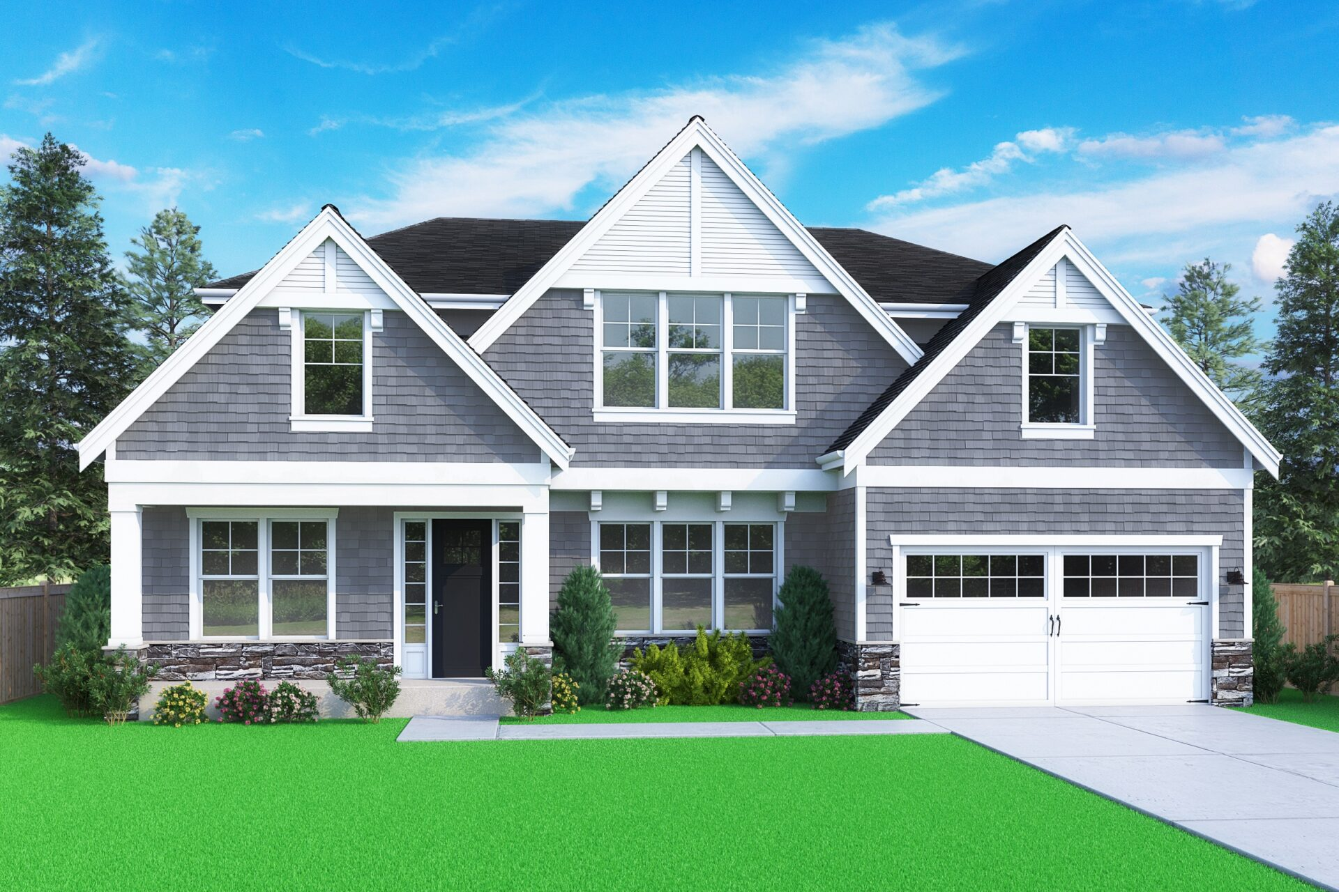 View our new luxury home construction on 1815 154th Ave SE, in Bellevue, WA from MN Custom Homes