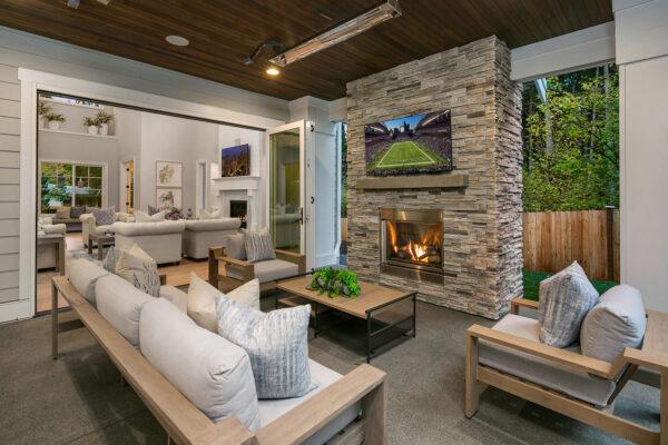 "Outdoor Covered Living: Covered Outdoor Living Spaces ""Must-have"" in New Construction Homes"
