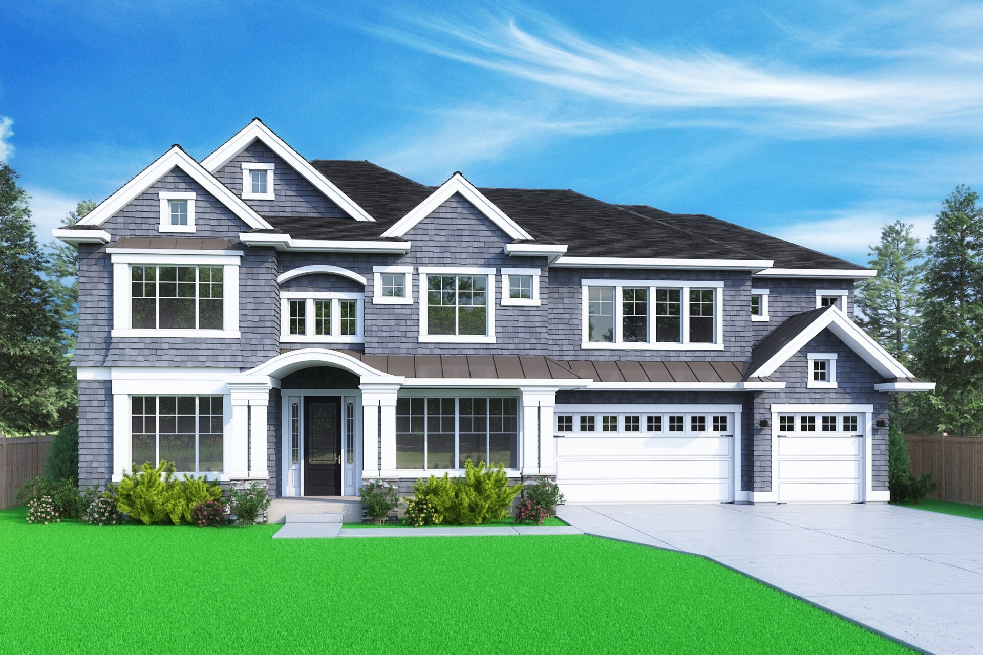 View our new luxury home construction on 2845 109th Ave SE, in Bellevue, WA from MN Custom Homes