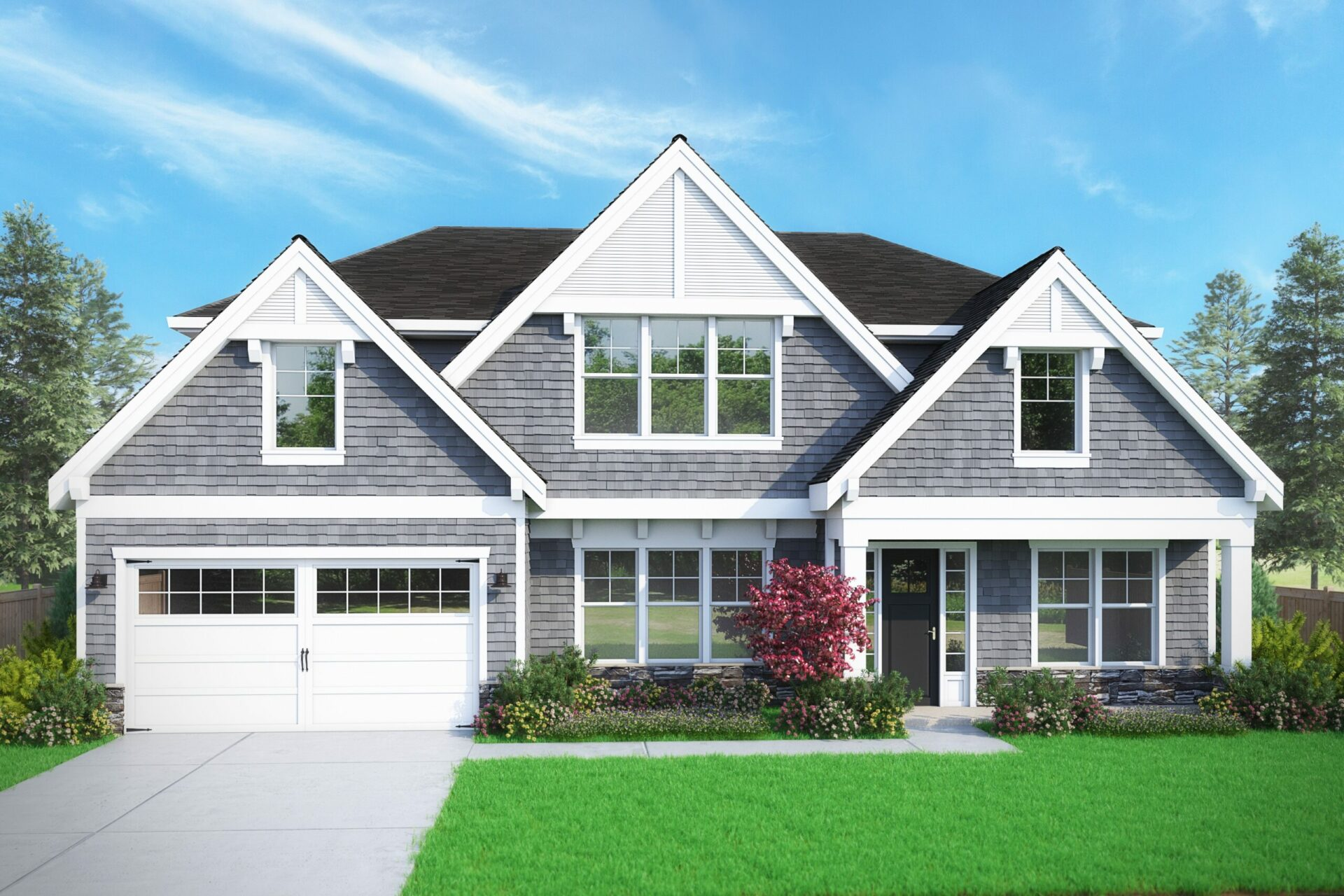 View our new luxury home construction on 4012 151st AVE SE, in Bellevue, WA from MN Custom Home