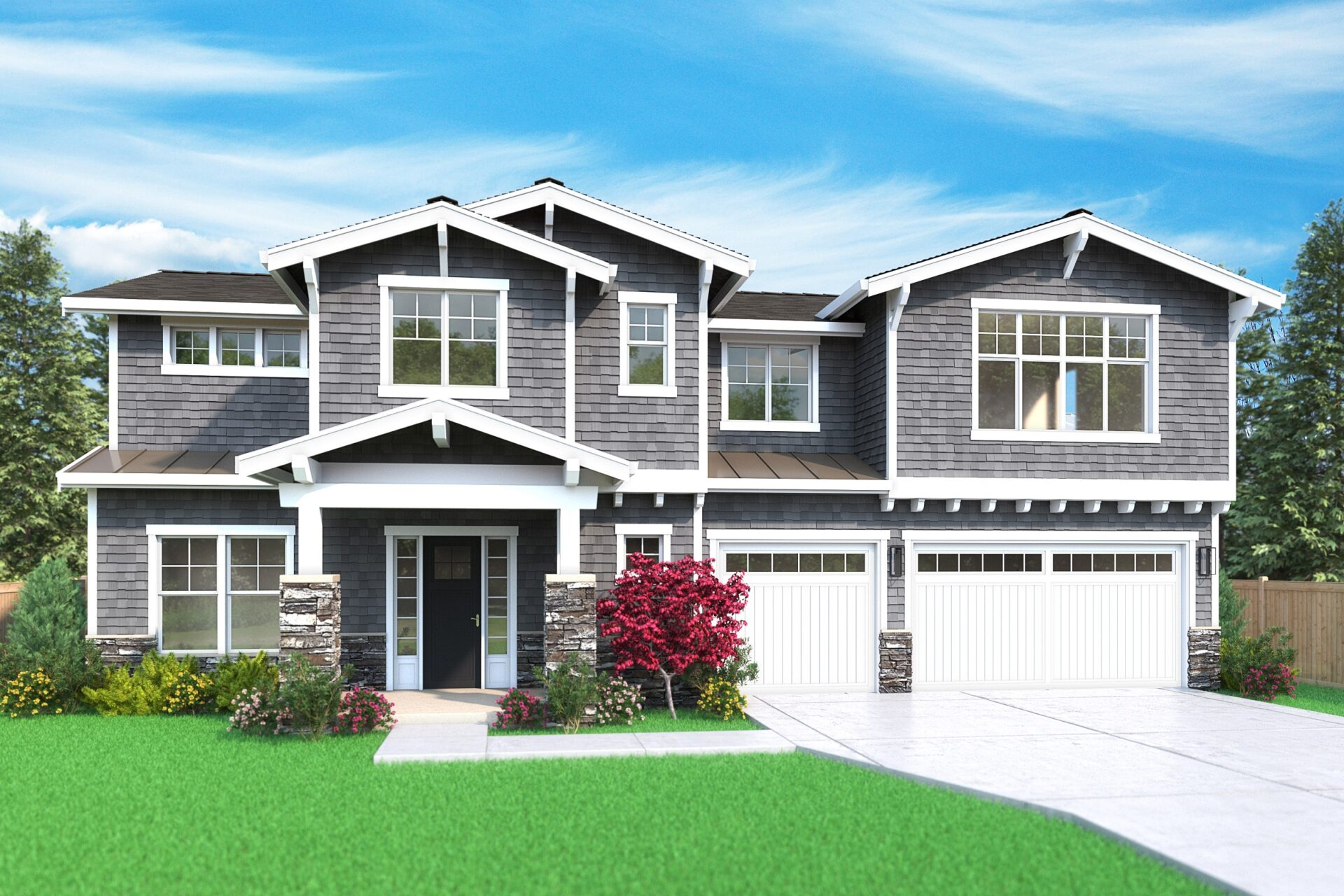 View our new luxury home construction on 7827-123rd-AVE-NE, in Kirkland, WA from MN Custom Homes