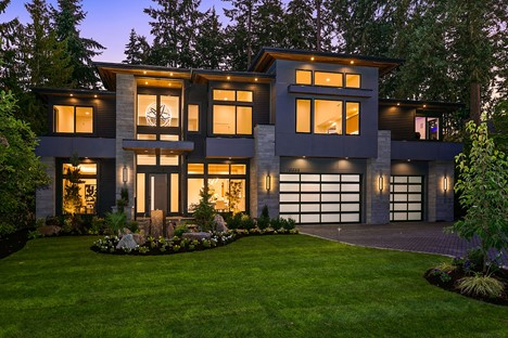 Example of a Modern Home - Built by MN Custom Homes