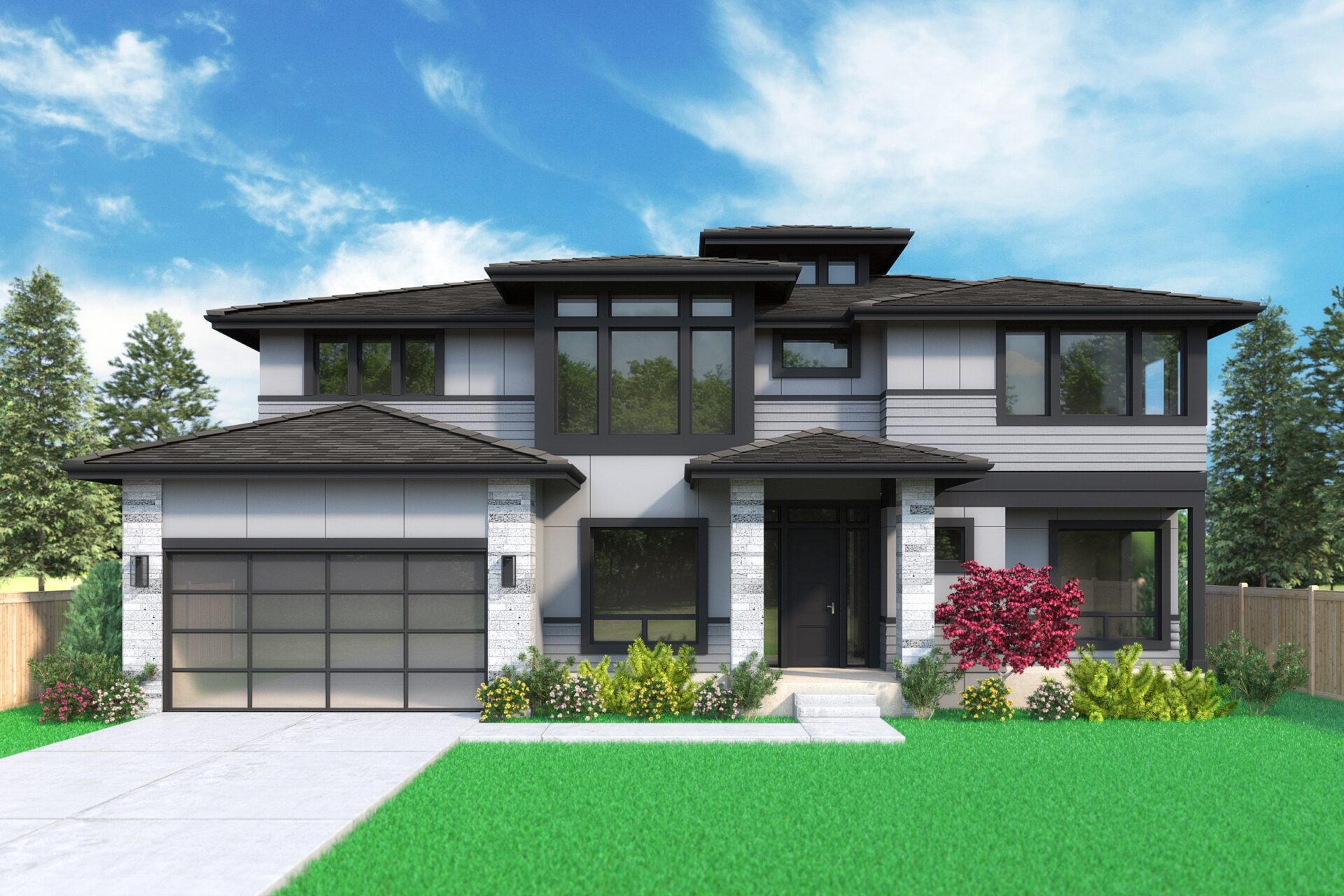 View our new luxury home construction on 626-164th Pl NE, in Bellevue, WA from MN Custom Homes