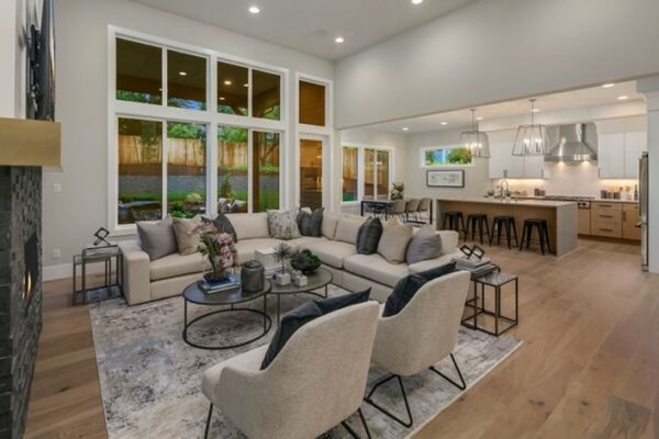 Example of a Transitional Interior - Designed by MN Custom Homes
