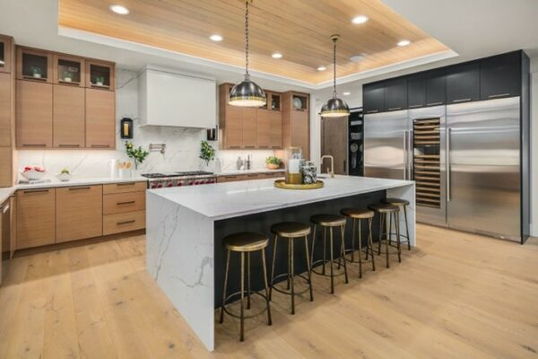 Example of a Modern Glam Interior - Designed by MN Custom Homes