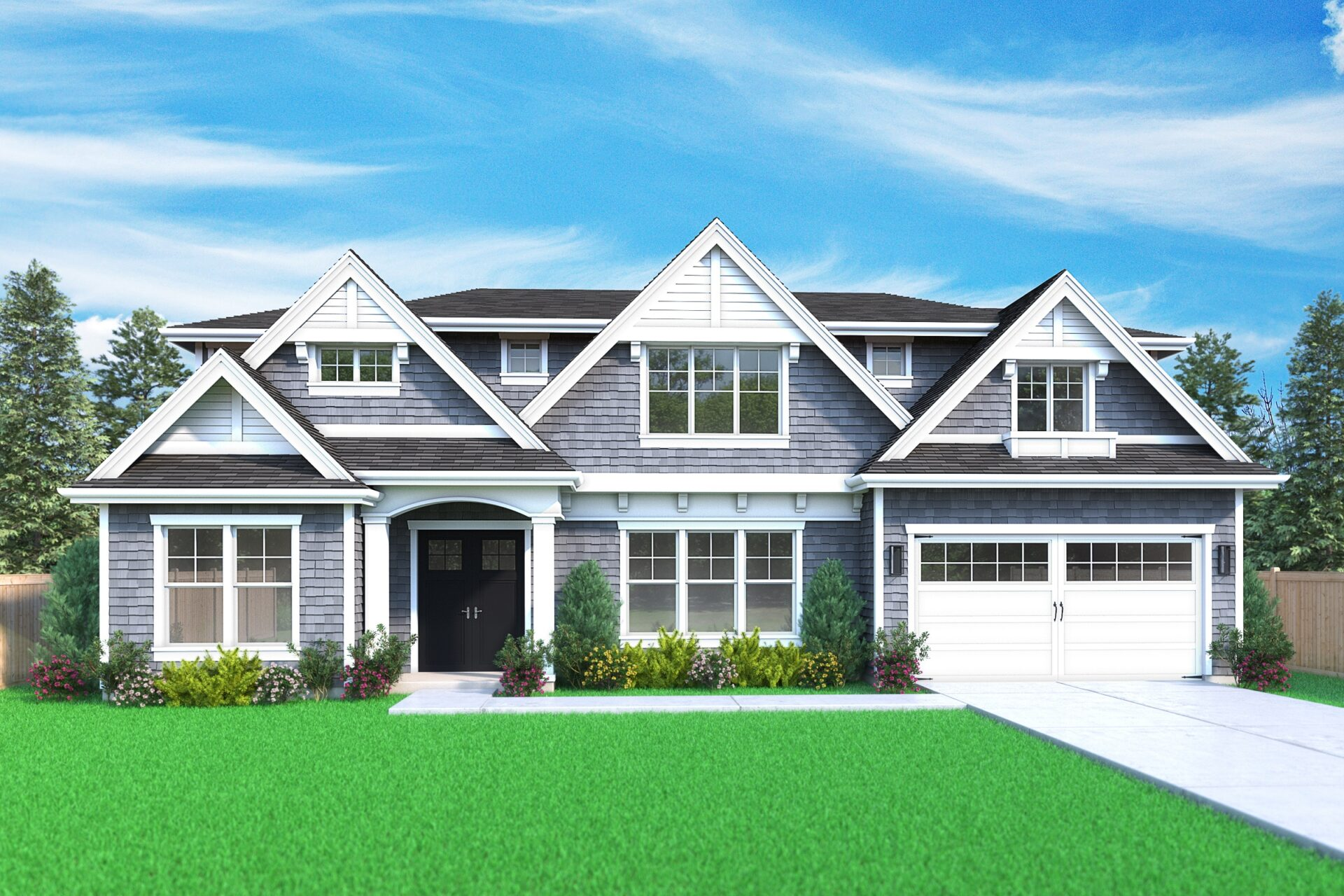 View our new luxury home construction on 7818 123rd Ave, in Kirkland, WA from MN Custom Homes