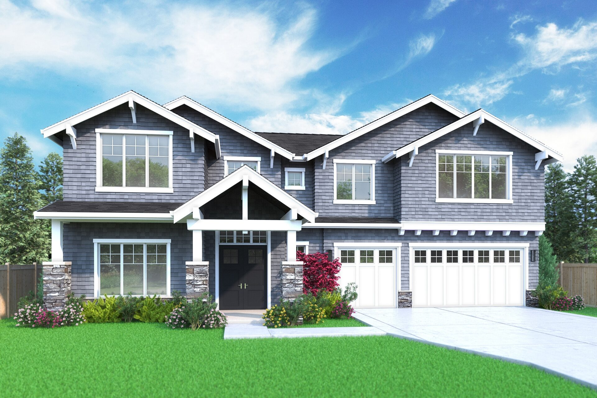 View our new luxury home construction on 7340 122nd Ave NE, in Kirkland, WA from MN Custom Homes