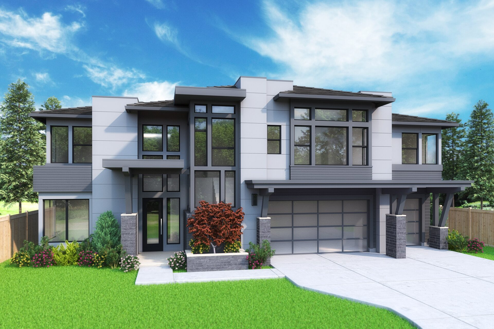 View our new luxury home construction on 14632 SE 42nd Street, WA from MN Custom Homes